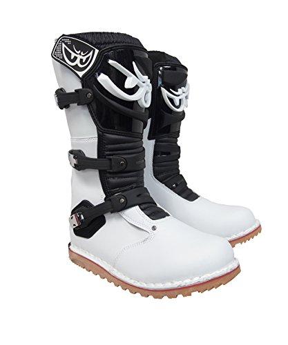 [해외]BERIK TRIAL BOOTS BOT-1221-BK WHITEBLACK 41 평가판 부츠 / Berik TRIAL BOOTS BOT-1221-BK WHITEBLACK 41 Trial Boots