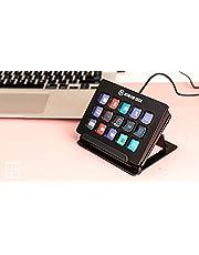 Elgato Stream Deck - Controller voor liveproducties met 15 aanpasbare LCD-toetsen en verstelbare steun, start acties in OBS Studio, Streamlabs, Twitch, YouTube en vele andere