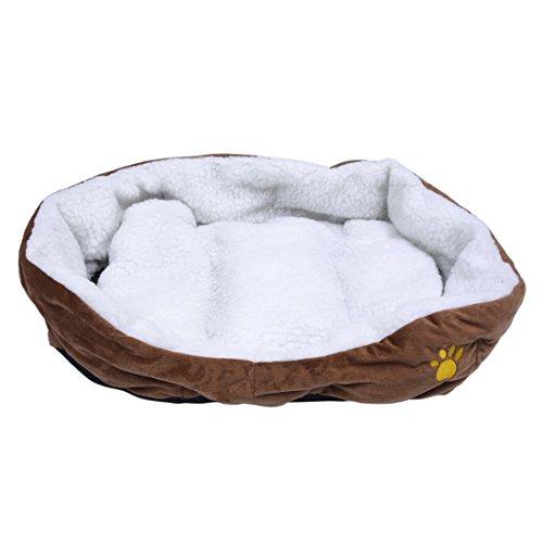 SODIALLarge Waterproof Warm Soft Fleece Puppy Pet Dog Cat Be