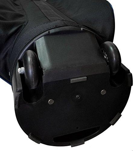 CaddyDaddy Golf Co-Pilot Pro 2 Hybrid Travel Case (Black/Blue)