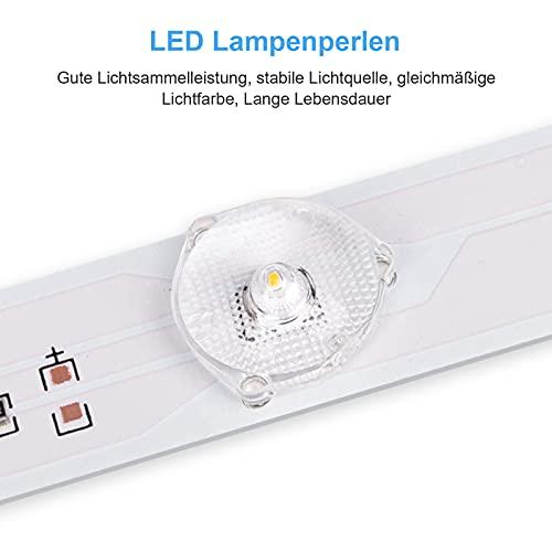 LED Deckenleuchte Deckenlampe Schwarz 24W, bedee 5000K Neutralweiß 1800 Lumen LED Lampen Deckenlampen für Wohnzimmer, Schlafzimmer, Küche, Flur, Büro, Balkon, Moderne Leuchte [Energieklasse A++]