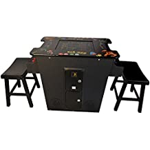 Cocktail Arcade Machine 412 Games Includes 2 Stools - Commercial Grade