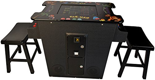 Cocktail Arcade Machine 412 Games Includes 2 Stools - Commercial (Galaga Cocktail)