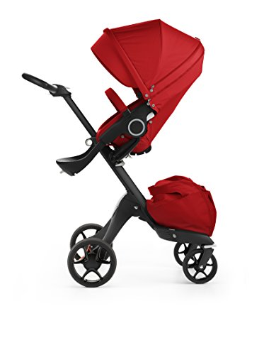 assis With Complete Stroller Seat, Parasol and Cup Holder, Red (Combo Chassis)