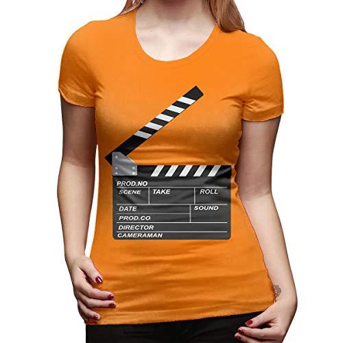 Atwood Louisa Openclipart Women's Short Sleeve T Shirt Color Orange Size 33 - Louisa Three Light