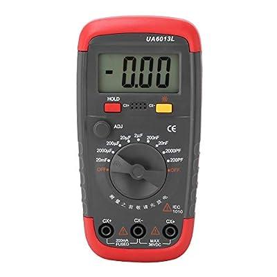 Capacitance Meter - UA6013L Professional Handheld LCD Digital Capacitor Tester