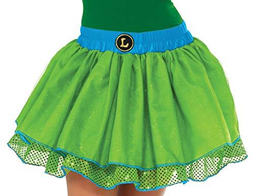 (Rubie's Nickelodeon Women's TMNT Classic Leonardo Tutu Costume, Green,)