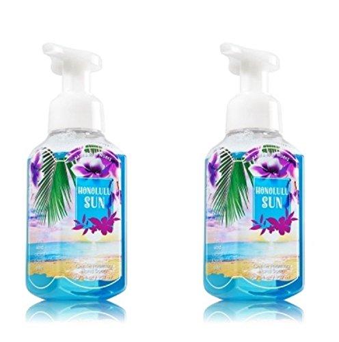Bath & Body Works Honolulu Sun Gentle Foaming Hand Soap - Pack of