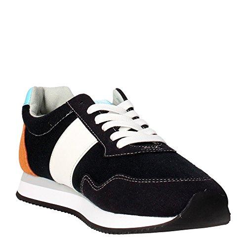 NATTSCANVASDKBL U.S. Polo Assn. Sneakers Hombre Tejido Negro negro
