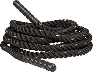 Yaheetech 1.5 Exercise Workout Strength Training Core 40 Strength Undulation Polyester Battle Rope