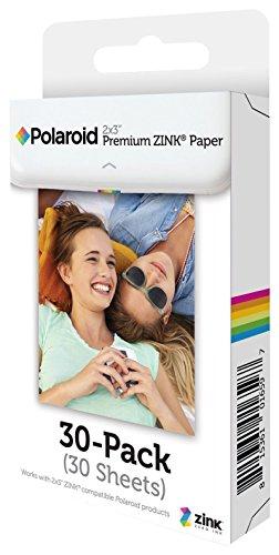 Polaroid 2x3 Zoll Premium ZINK Fotopapier (30 Blatt) - Kompatibel mit Polaroid Snap, Z2300, SocialMatic Sofortbildkameras, Zip Sofortbilddrucker