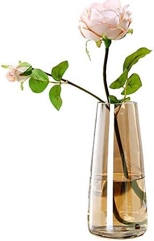 Ins Modern Glass Vase Irised Crystal Clear Glass Vase