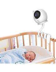 Universele babyfoon houder plank flexibele camerabandaard zonder boren voor kinderdagverblijf babyfoon wieg mount compatibel met babyfoon camera met 1/4 schroefdraad gat