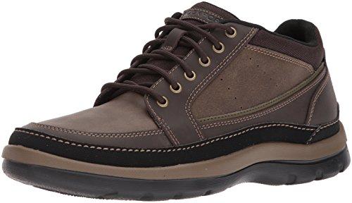 Rockport Men's Get Your Kicks Mudguard Chukka Chukka Boot, Dark Brown, 8 W (Rockport Foam Boot)