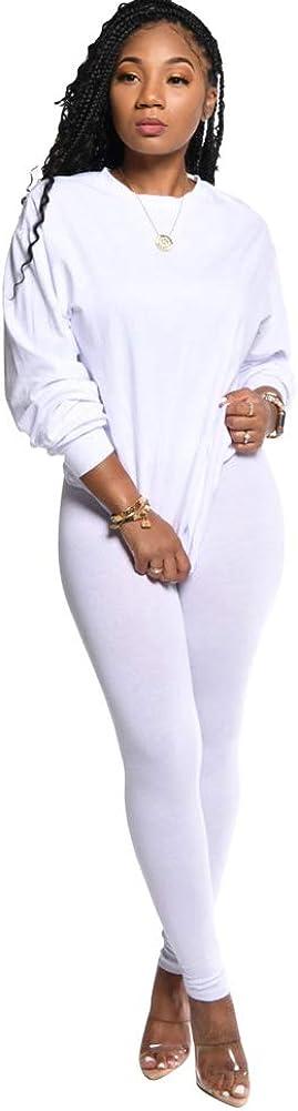 OLUOLIN Womens 2 Piece Outfits Letter Print Long Sleeve Ruffle Sweatshirt Long Pants Tracksuit Set Sportwear