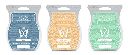 Scentsy Multi-pack - Luna, Skinny Dippin, Just Breathe from Scentsy