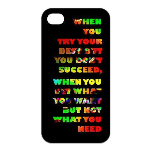 Fayruz- Coldplay Protective Hard TPU Rubber Cover Case for iPhone 4 / 4S Phone Cases A-i4K285