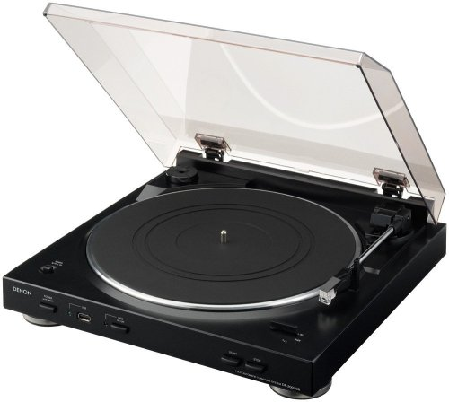 Denon Digital Turntable (Denon DP-200USB Fully Automatic Turntable with MP3 Encoder)