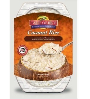 Taste Of Rice Coconut Basmati Rice Mix 8.8 Oz, Pack of 18 by A Taste of India
