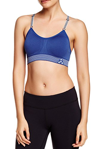 fan products of Balanced Tech Women's Ultimate Performance Seamless Sports Bra - Monaco Blue - Small