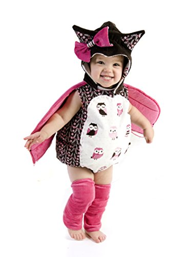 Owlet Baby Costume (Princess Paradise Baby's Emily The Owl, Pink/Brown, 6 to 12 months)