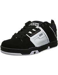 """<span class=""""a-offscreen"""">[Sponsored]</span>Men's Comanche Action Sports Shoe,Black/White Nubuck,10 M US"""