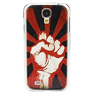 QYF Fist Protective Back Cover for Samsung Galaxy S4 I9500