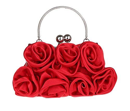pour noir unique red Pochette noir 2 taille femme Aronvivi tU5wxqPx