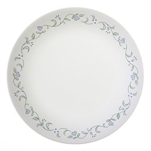 Corelle Livingware Luncheon Plate, 8-1/2-Inch, White, Set of 6