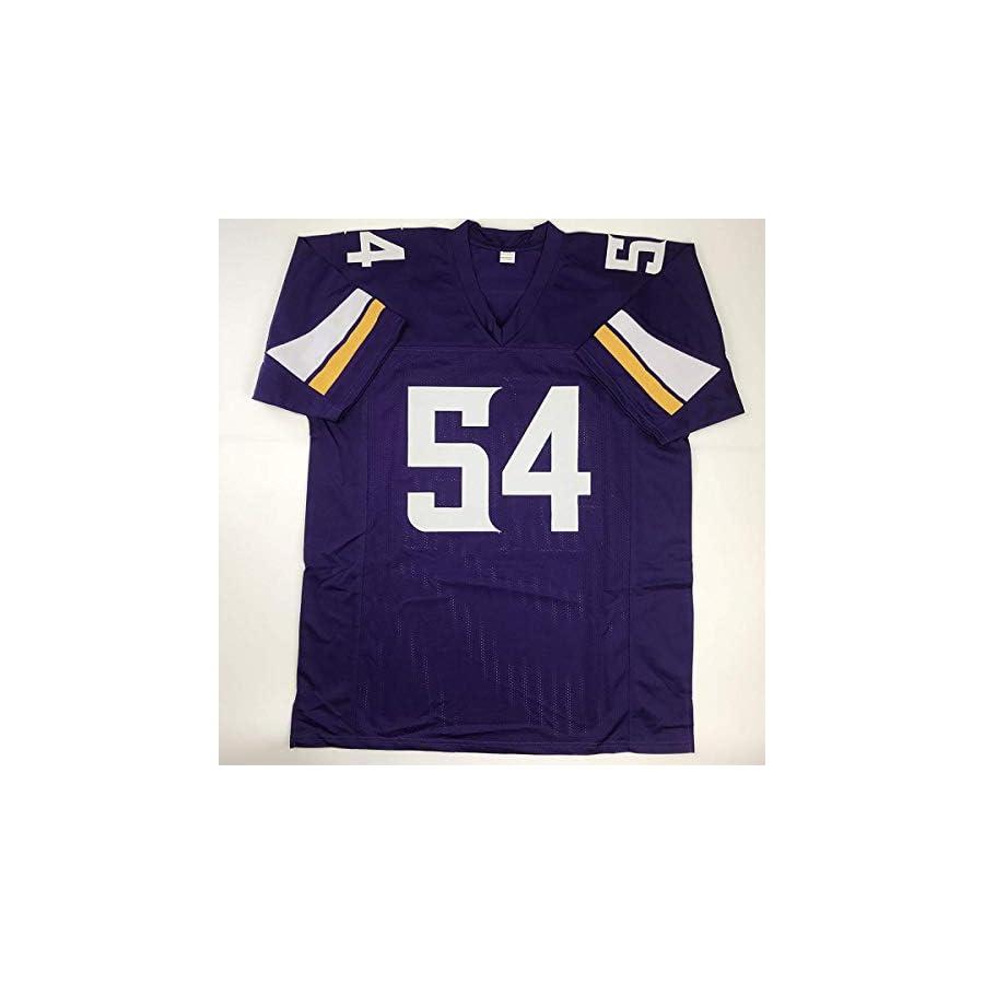 Autographed/Signed Eric Kendricks Minnesota Purple Football Jersey JSA COA