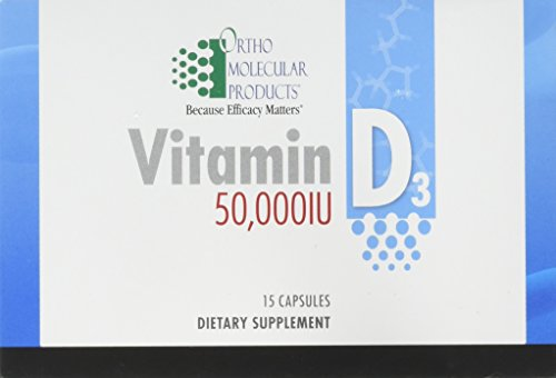 Ortho Molecular - Vitamin D3 50,000 IU - 15 Capsule Blister Pack by Ortho