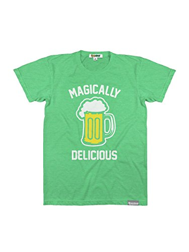 Tipsy Elves Men's Funny ST. Patrick's Day Shirts - ST. Patty's Day T-Shirts Apparel For Guys (Magically Delicious, X-Large)