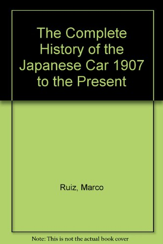 Complete History Of The Japanese Car