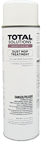 Aerosol Dust Mop Treatment Oil based, Lemon Scented Treatment - 12 Can Case by EcoClean Solutions