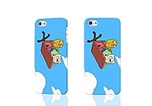 Adventure Time Jake and Finn 3D Rough Case Skin, fashion design image custom , durable hard 3D case cover for iPhone 5C , Case New Design By Codystore