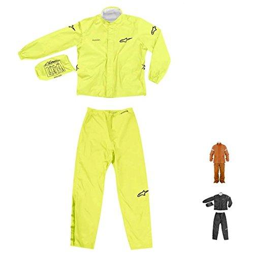 Alpinestarsクイックシールアウト2ピースRain Suit X-Large ブラック 28510414 B00BQVS7GQ XL X-Large