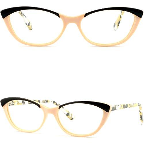 Full Rim Women's Cat Eye Frames Stylish Prescription Glasses RX Sunglasses - Tracking Shop Order Sunglasses