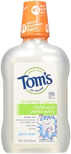 Mouthwash: Tom's of Maine Children's Anticavity