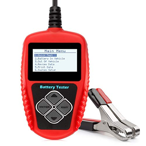 AutoKraze BA101 Automotive Battery Load Tester 12V 100-2000 CCA Bad Cell Test Analyzer Tool Directly Test Car, Boat, and Motorcycle Battery Status Portable, Digital and Rechargeable Battery Tester by AutoKraze (Image #9)