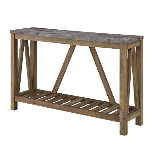 WE Furniture AZ52AFTDC Entryway Table, 52
