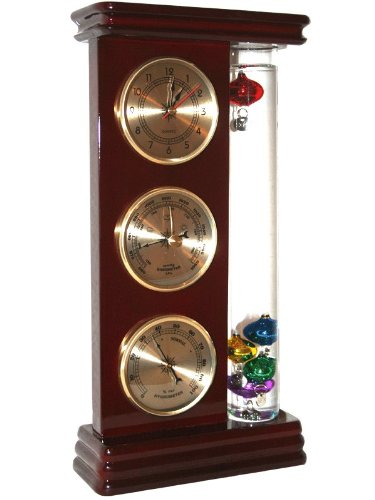 Ambient Weather WS-YG710S-G Galileo Weather Station with Thermometer, Barometer, Hygrometer and Clock by Ambient Weather