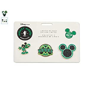 Disney – Mickey Mouse Memories Pin Set – October – Limited Release