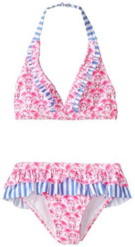 Angel Beach Big Girls' Couples Flamingo Bikini Set, Multi, 16