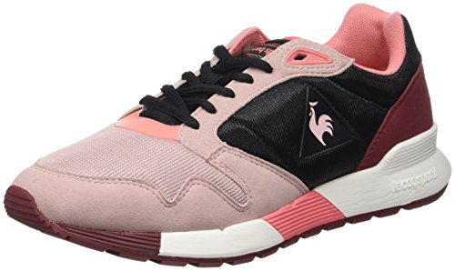 Le Negro Coq Mujer W Entrenadores black Mesh Omega Bajos Para pale X Mauve Sportif rZR1qwUvr