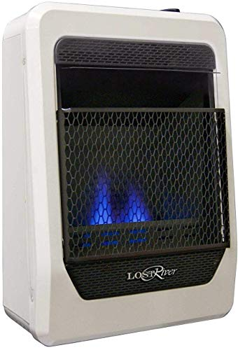 Lost River LRT10B-NG Natural Ventless Blue Flame Gas Space Heater, 10,000 BTU, 10,000 BTU (Heaters Room Natural Gas)
