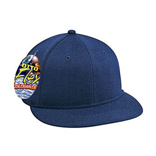 Otto Otto Flex Stretchable Wool Blend Flat Visor Pro Style Caps (S/M) (L/XL)