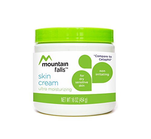 Mountain Falls Skin Cream, Ultra Moisturizing for Dry, Sensitive Skin, Non Irritating, Compare to Cetaphil, 16 Ounce