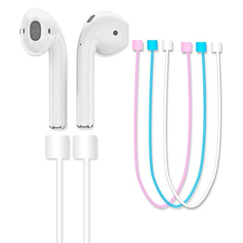 Avaspot Silicone Ear Loop Strap Anti Lost String Rope for AirPods - Blue by Avaspot (Image #1)