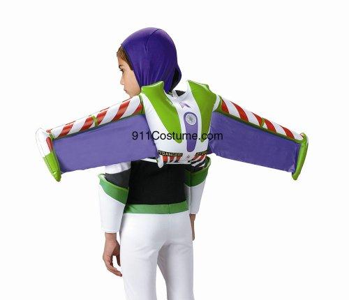 [11204 Buzz Lightyear Jetpack] (Women Buzz Lightyear Costumes)