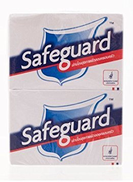 Safeguard Antibacterial Soap, White With Aloe 8-Count: Bath Size Bars (4 Oz) (Pack of 4)